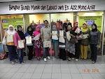 Bengkel Bunga Manik/Labuci dikendalikan oleh En. Aziz Mohd Ariff