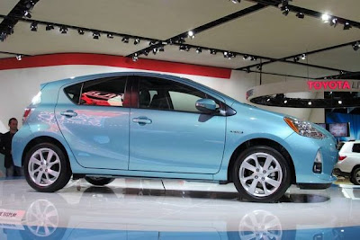 2012 Toyota Prius C Preview