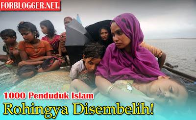 Lagi 1000 Penduduk Islam Rohingya Disembelih