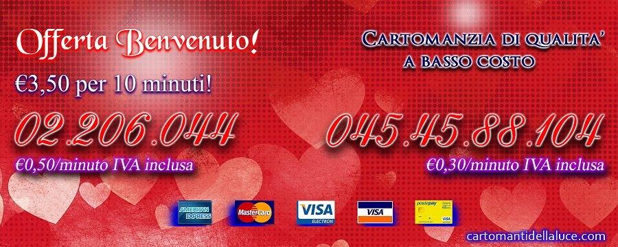 Paga con Carta di Credito! E' sicuro, economico, anonimo!