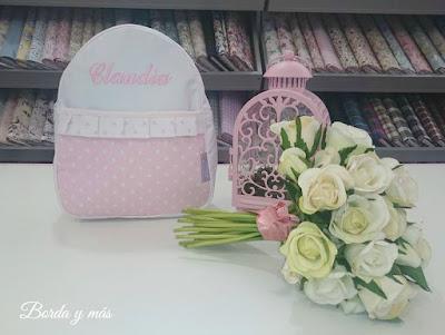 mochila cole rosa