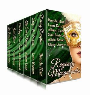 Regency Masquerades Cover