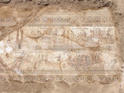 Κύπρος: Στην επιφάνεια εντυπωσιακό ψηφιδωτό του 4ου αιώνα μ.Χ.