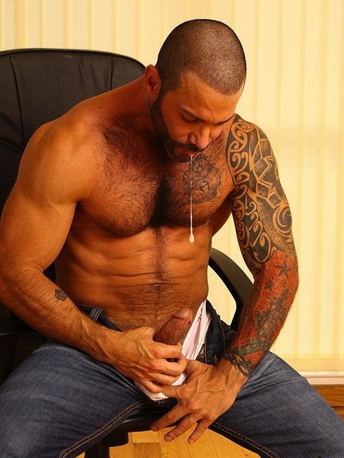 Leather Muscle Daddy Tumblr
