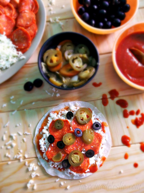 Pizzadillas #SundaySupper - La Cocina de Leslie
