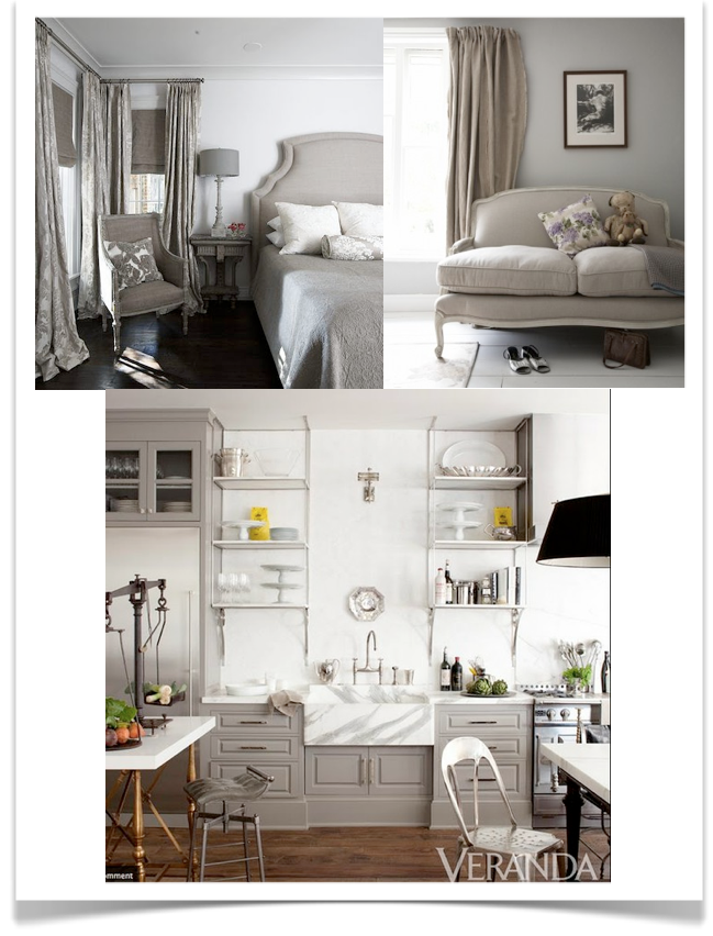 10 Rooms: the difference between gray, grey, warm grey, beige ...