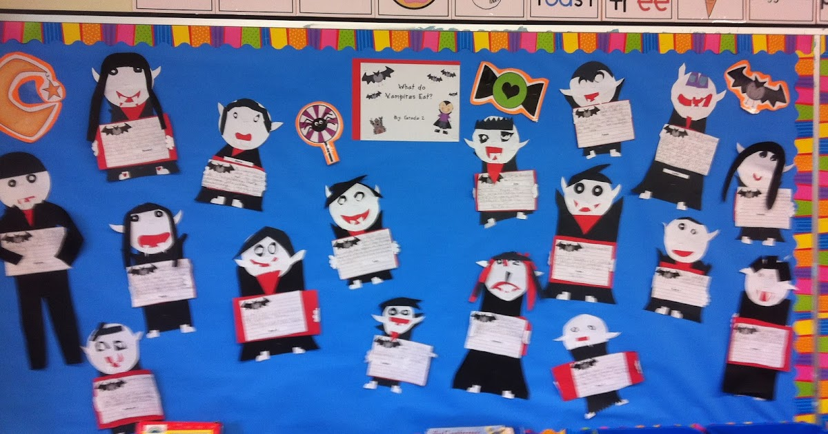 What Do Vampires Eat Today In Second Grade