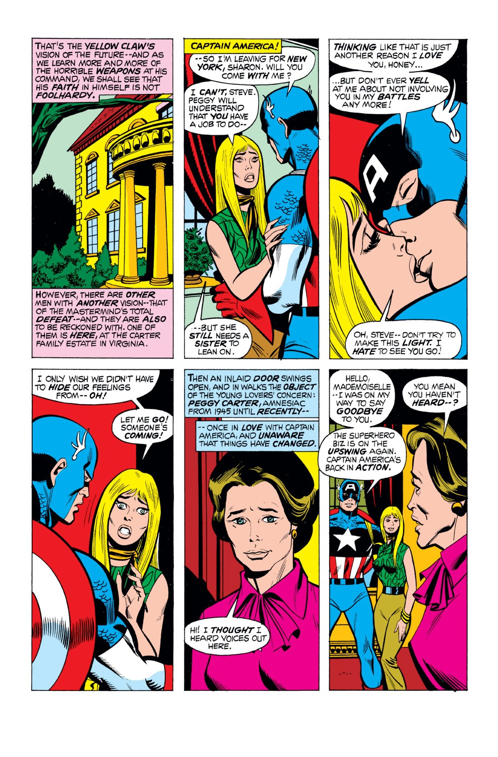 Captain America (1968) Issue #165 #79 - English 9