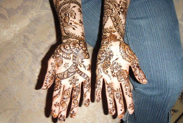 Mehndi Designs For Hands For Engagement : Stylish engagement mehndi arts for our wedding women interest