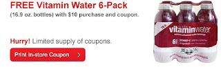 FREE 6-pk Vitamin Water