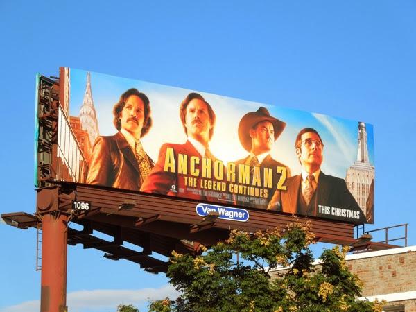 Anchorman 2 billboard