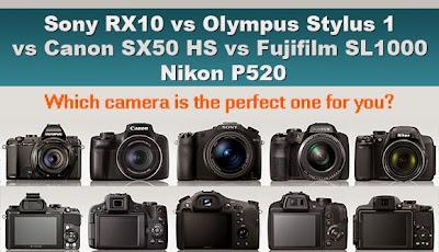 Olympus Stylus 1, Sony RX1, Fuji X 100S, Canon G16, Panasonic LF1, Ricoh GR, superzoom camera, new camera