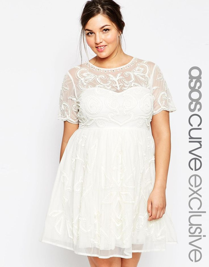 white graduation dresses plus size | Best Dresses 2019