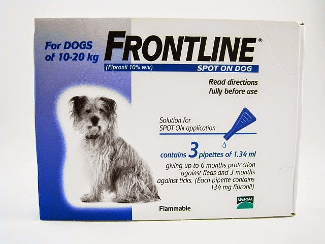 Frontline spot on for medium-dogs
