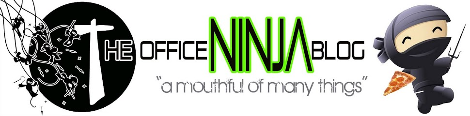 "NINJA WORLD!  ""A Mouthful of Many Things"""