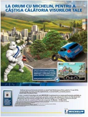 La drum cu Michelin
