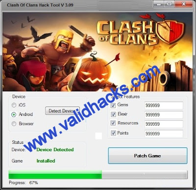 CLASH OF CLANS iOS CHEAT TOOL