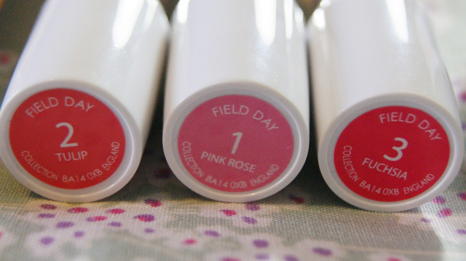 Collection Field Day Lipstick Shades