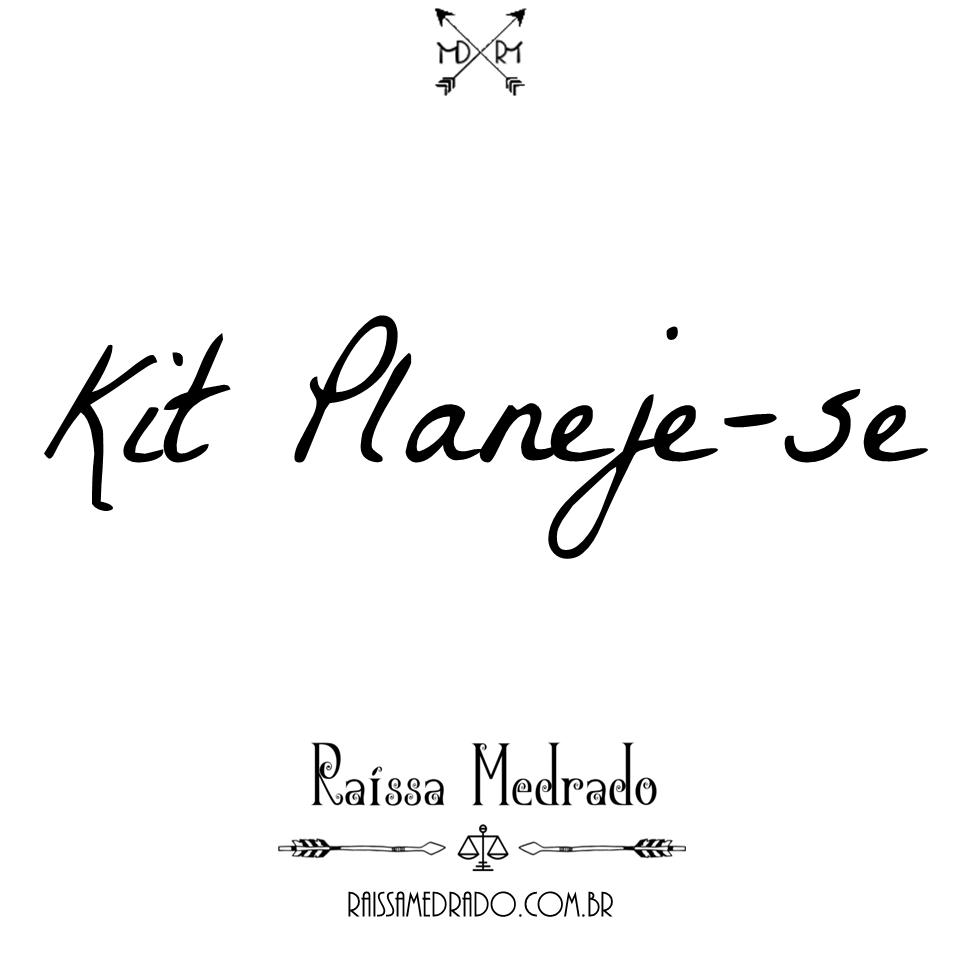 Kit Planeje-se