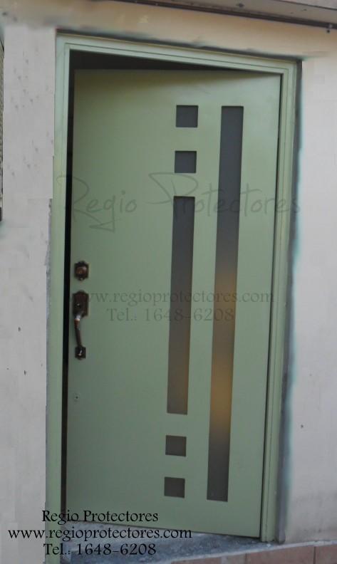 Regio protectores puerta contempor nea colonia lagrange - Puertas de herreria para entrada principal ...
