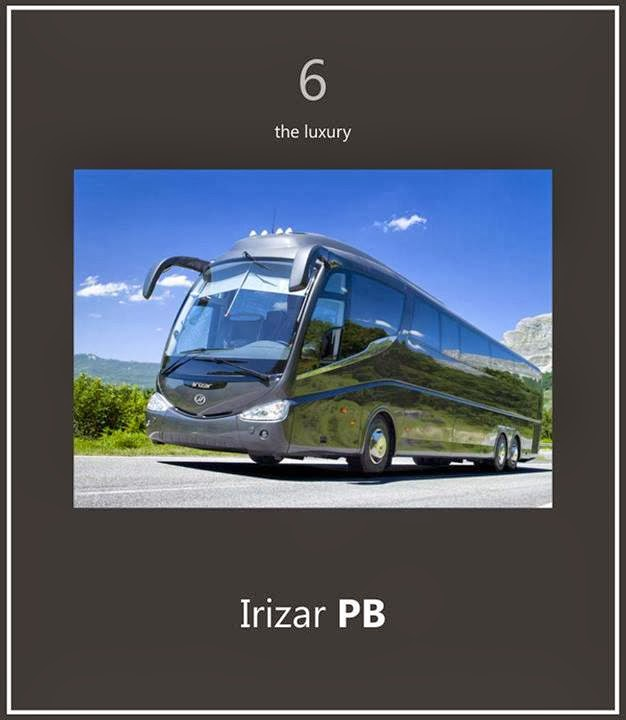 Irizar PB 7 bus paling TOP di dunia