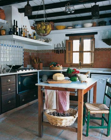 Blog de mbar muebles c mo decorar una cocina de campo for Cocinas de campo