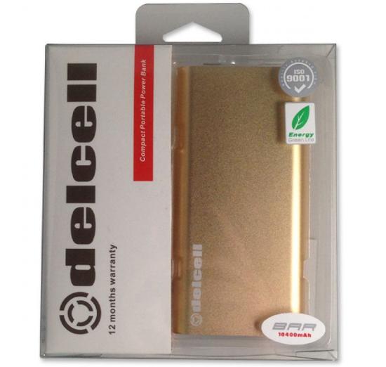 Harga & Spesifikasi Delcell BAR Power Bank 10400mAh dengan Samsung Cell