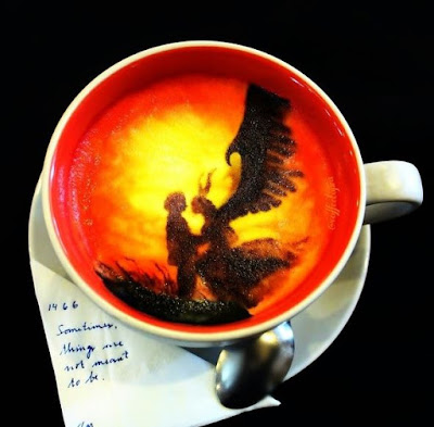 amazing coffee paintings
