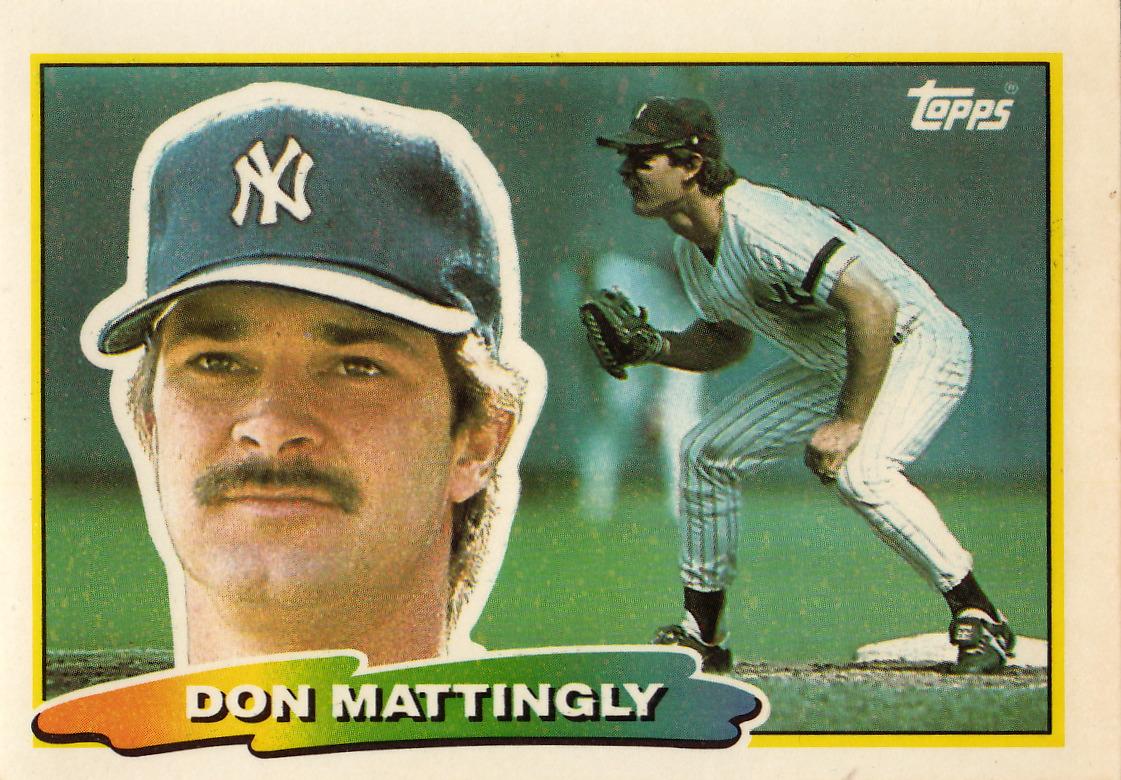 The Baseball Card Blog Don Mattingly Non Standard