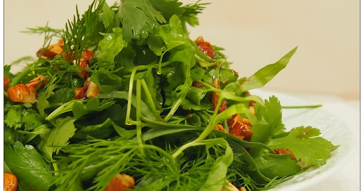 Graceful Kitchen: Etti's Herb Salad