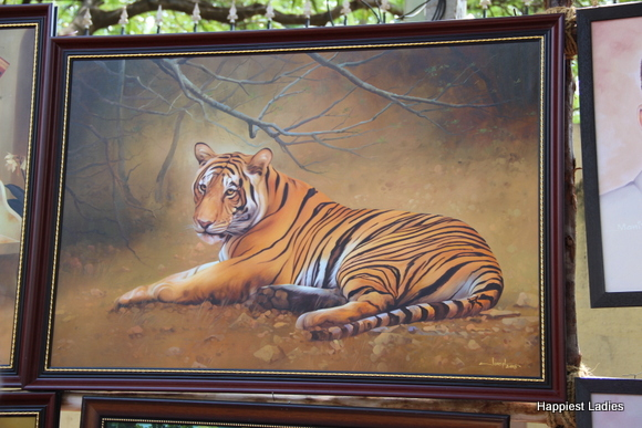 wildlife oil painting