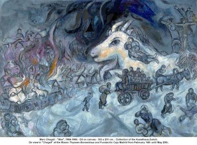 La guerra 1964-1966, Marc Chagall