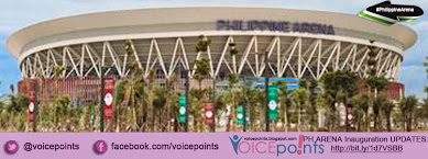 #PhilippineArena Inauguration Updates