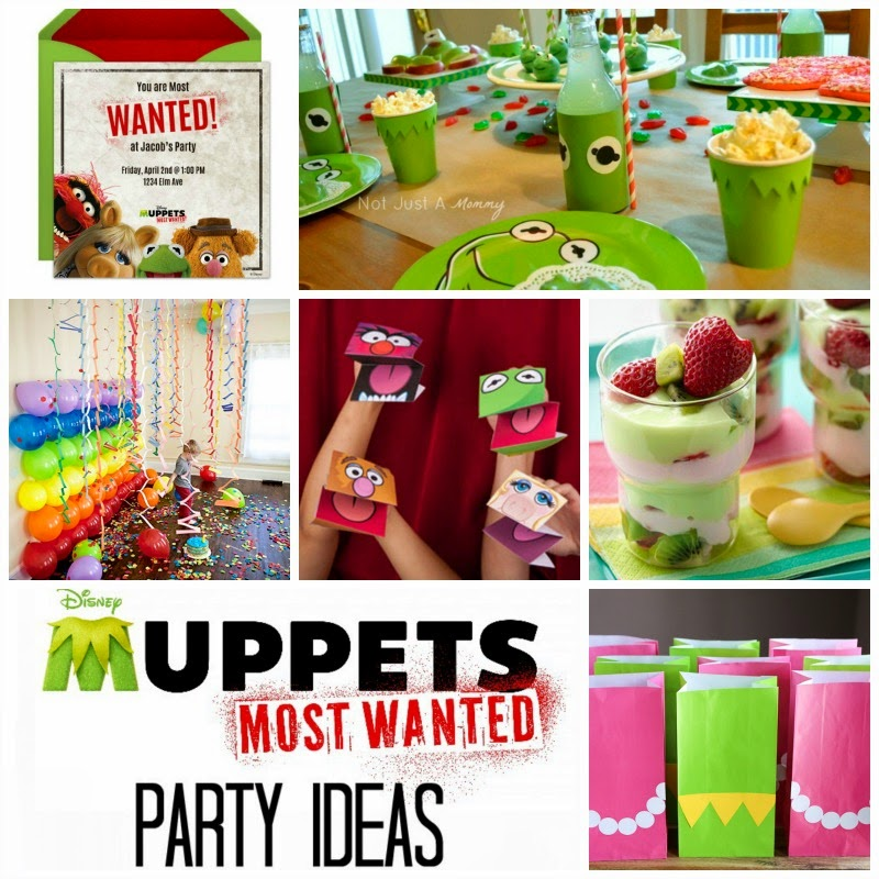 Muppets Most Wanted Party Ideas
