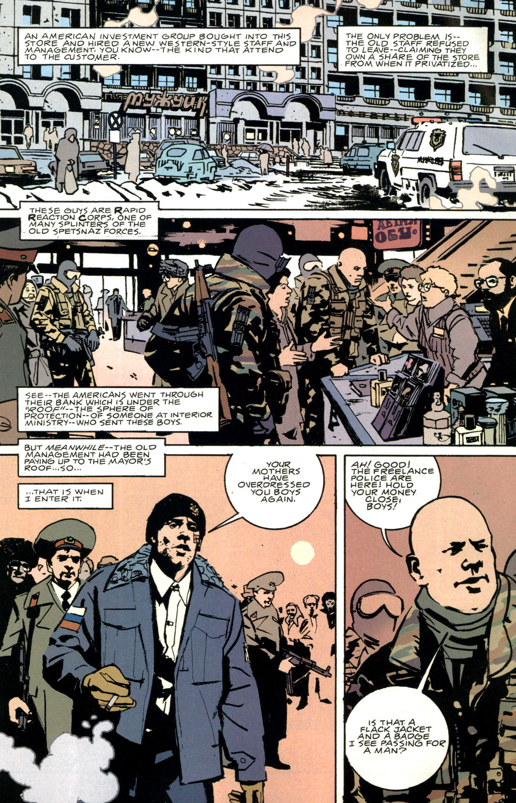 Read online The Winter Men comic -  Issue #1 - 9