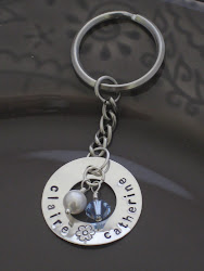 Circle Washer Key ring