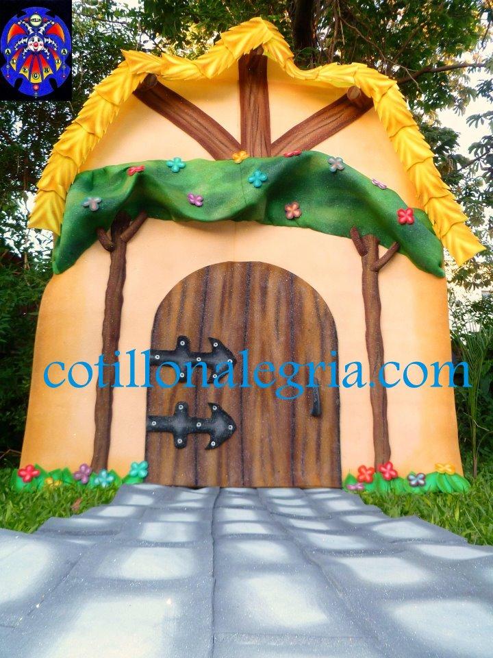 La casa de los siete enanitos disney wiki cotillon alegria - Casa de blancanieves y los 7 enanitos simba ...
