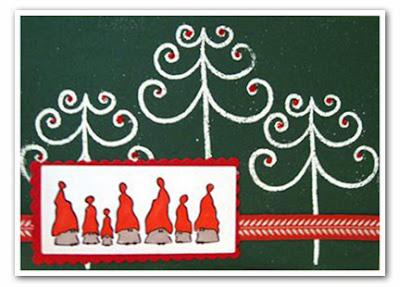 Joulukortti, askartelu, jouluaskartelu
