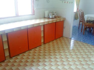 ruang dapur yang sangat luas