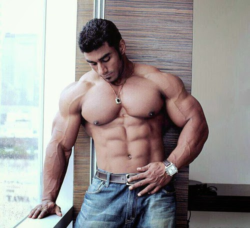 aesthetic muscle, bodybuilder, great abs, male fitness model, male model, muscle, physique, ripped muscles, Sangram Chougule, vascular muscle,