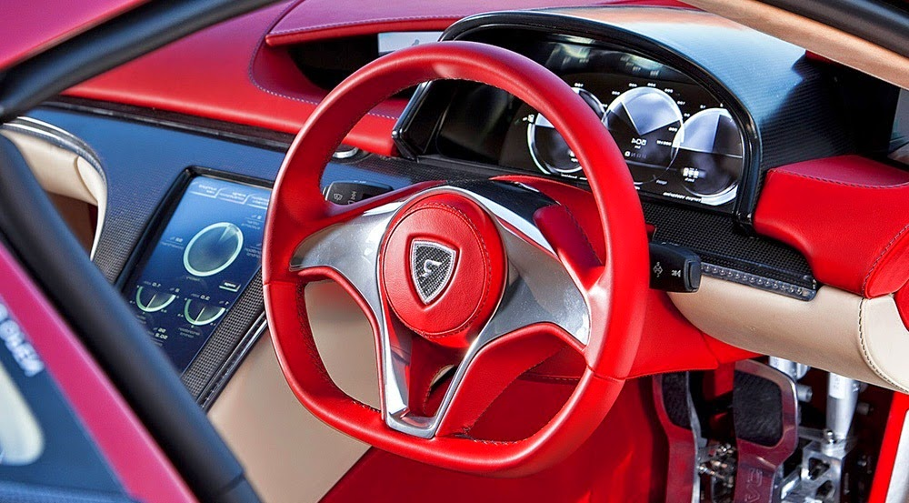 Rimac Concept One Interior