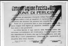 GRAZIANI ASSUME IL COMANDO DELLA LEGIONE FASCISTA UMBRA.