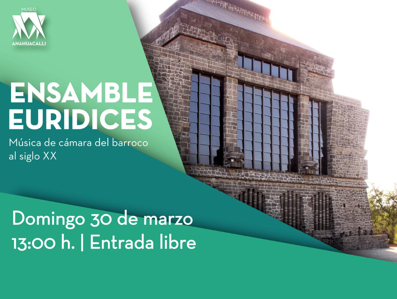 Ensamble Euridices: Música de cámara en el Museo Anahuacalli
