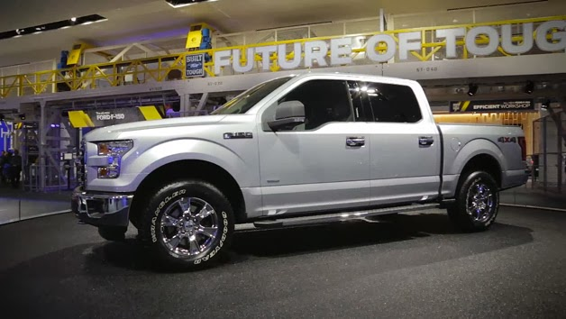 Ford Tortures 2015 Ford F-150 With the Help of Beefy Men