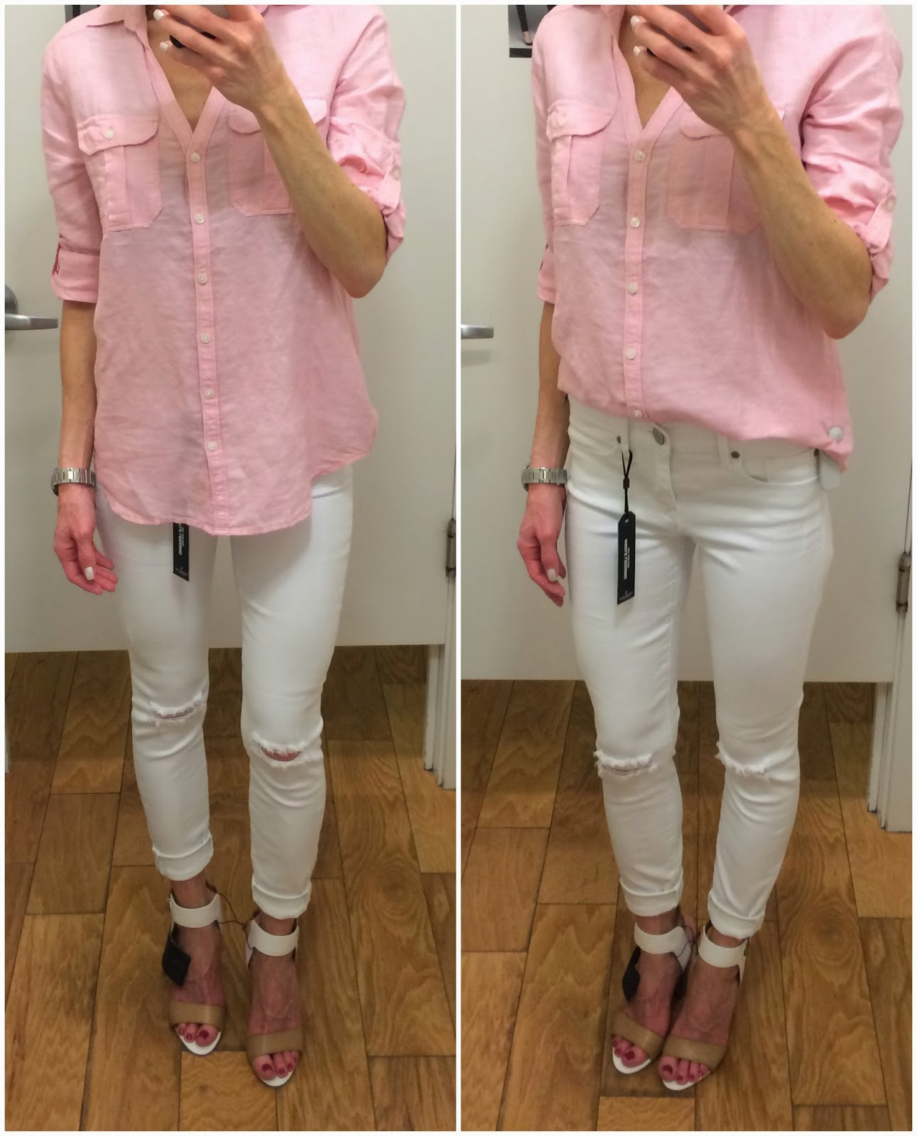 White Legging Jeans - Jeans Am