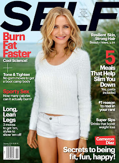 Cameron Diaz Self Magazine Photoshoot February 2014 HQ Pictures