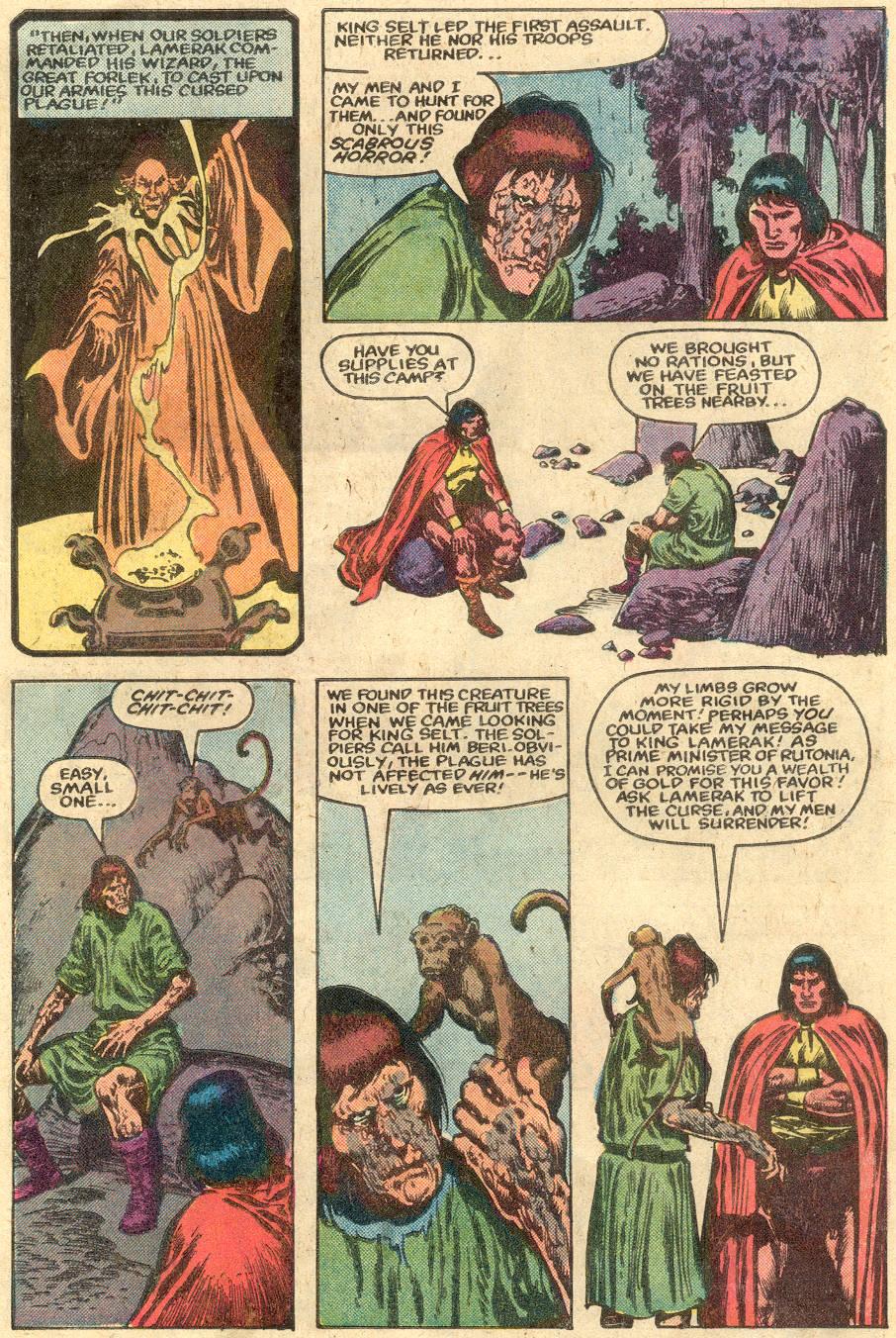 Conan the Barbarian (1970) Issue #148 #160 - English 5