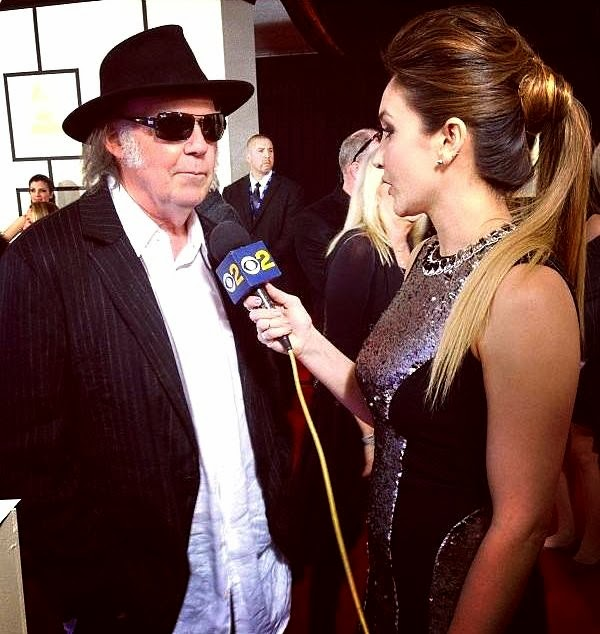 Neil Young Grammys 2014