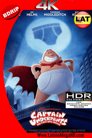 Las Aventuras del Capitán Calzoncillos: La Película (2017) Latino Ultra HD 4K BDRIP 2160P ()