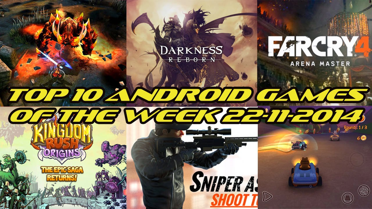 TOP 10 BEST NEW ANDROID GAMES OF THE WEEK - 22nd November 2014